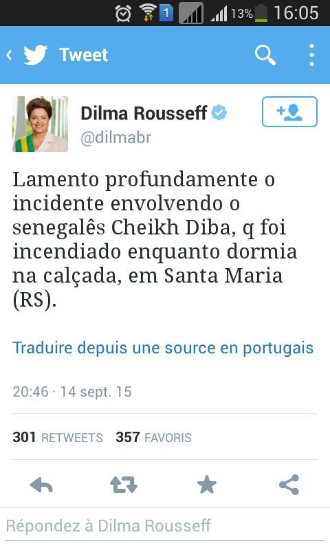 L'extermination des Modou-Modou se poursuit : Cheikh Diba brûlé vif pendant son sommeil au Brésil
