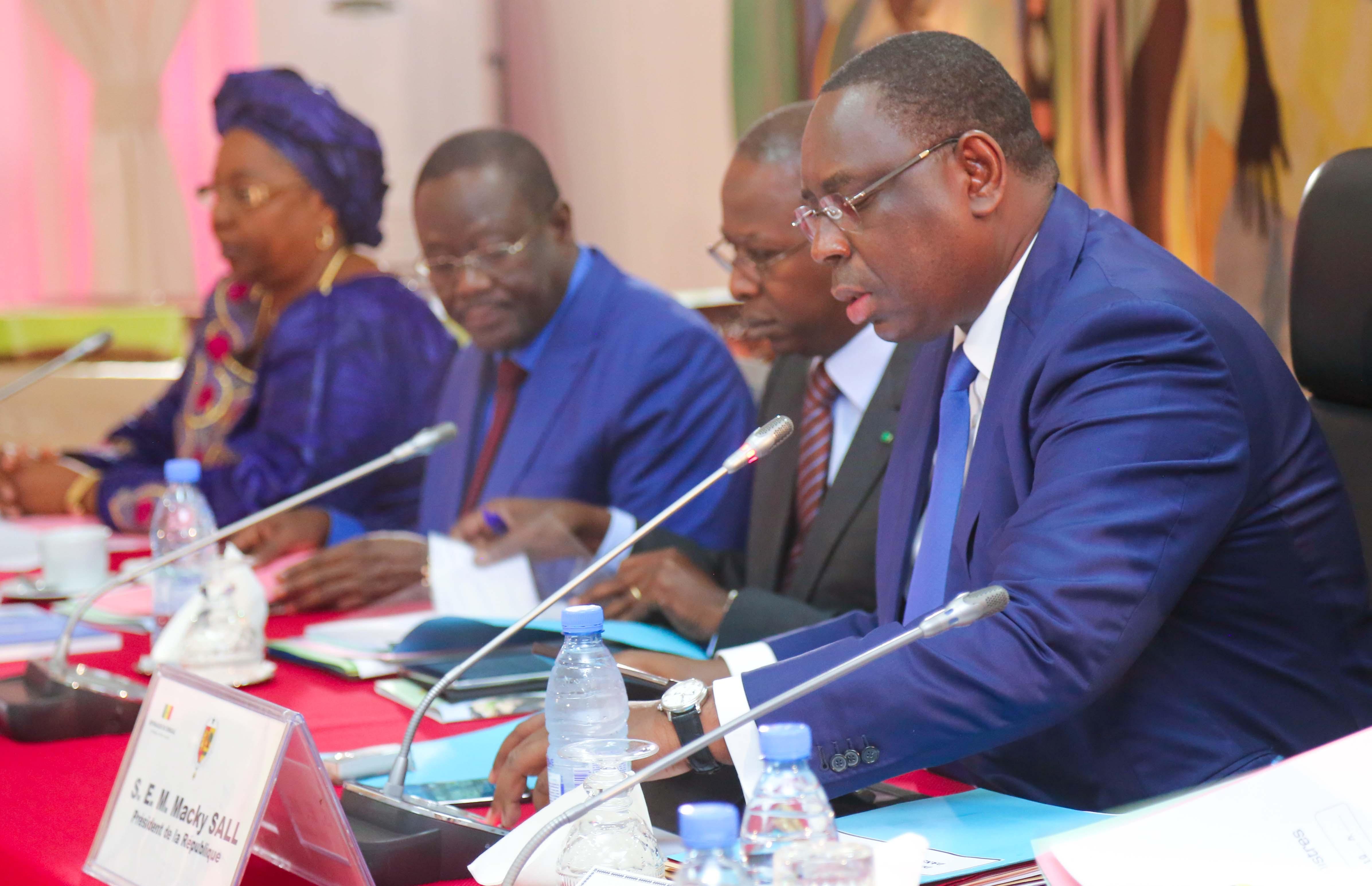Communiqué du Conseil des ministres du 16 Septembre 2015