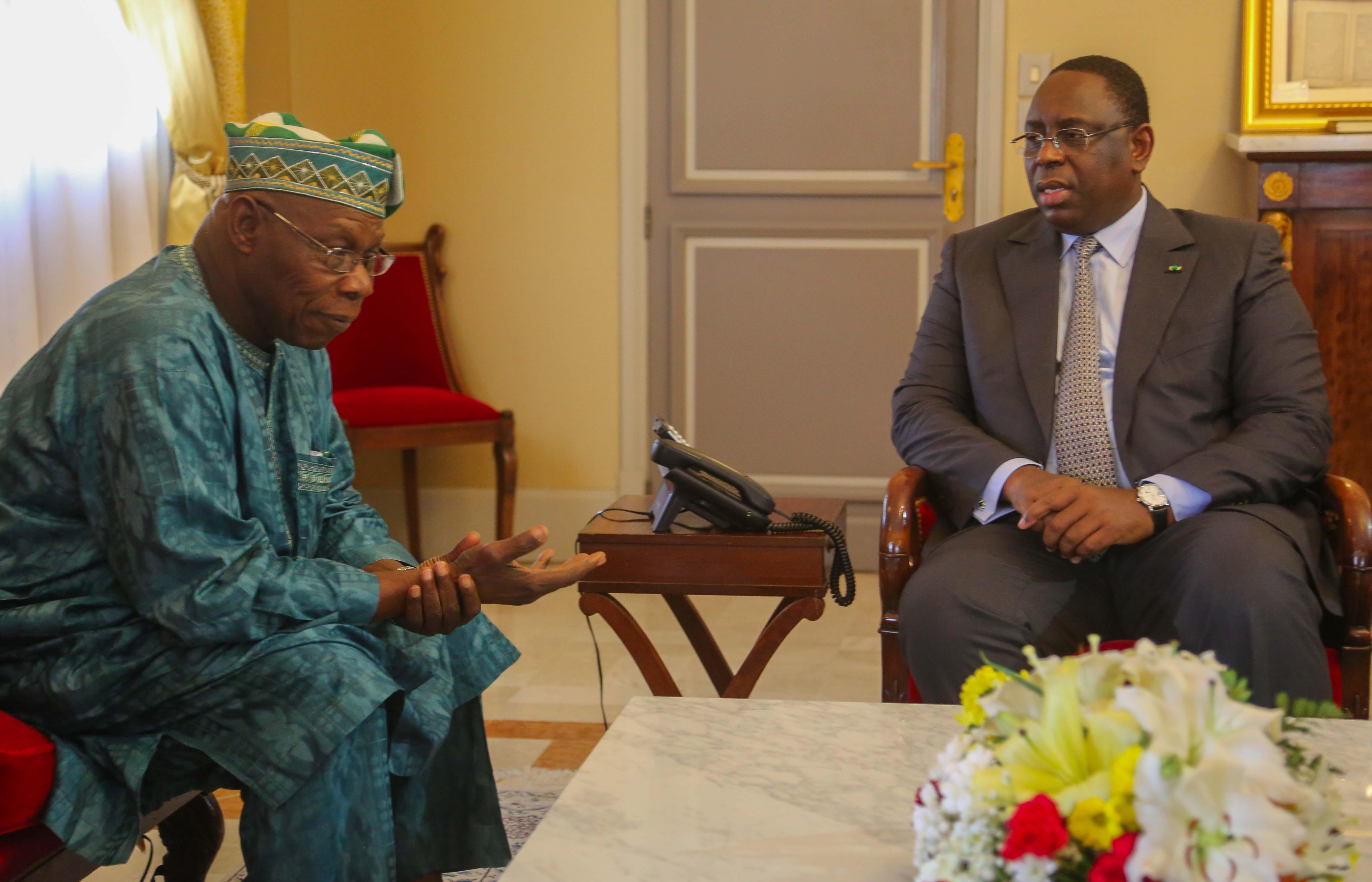 Crise politique en Guinée Bissau: Macky Sall reçoit Olusegun Obasanjo