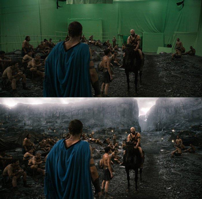 28 scènes de films… sans leurs effets spéciaux. Attention, vous allez être surpris !