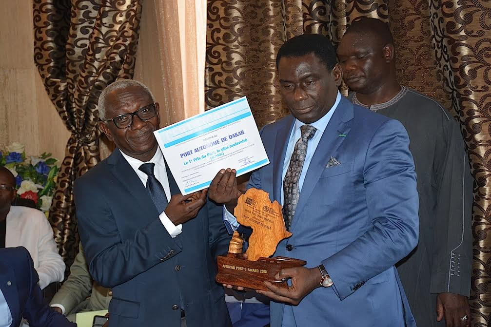 """Cheikh Kanté, Dg du Port de Dakar : """"Je remercie le Président Macky Sall qui m'a hissé à ce niveau ainsi que..."""""""