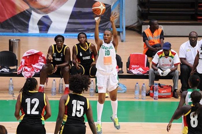 Afrobasket Féminin : Le Sénégal domine largement la Guinée (102-44)