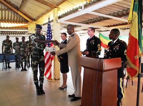 Gestion des crises : Forces américaines et sénégalaises en formation