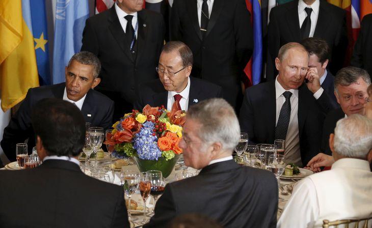 Assemblée générale de l'Onu : Obama et Poutine se reprochent d'entretenir la révolution syrienne