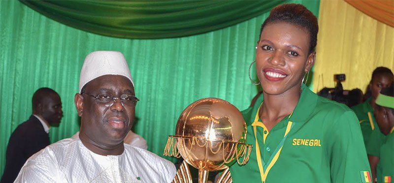 Basket - Ramata Daou offre sa médaille à Macky Sall