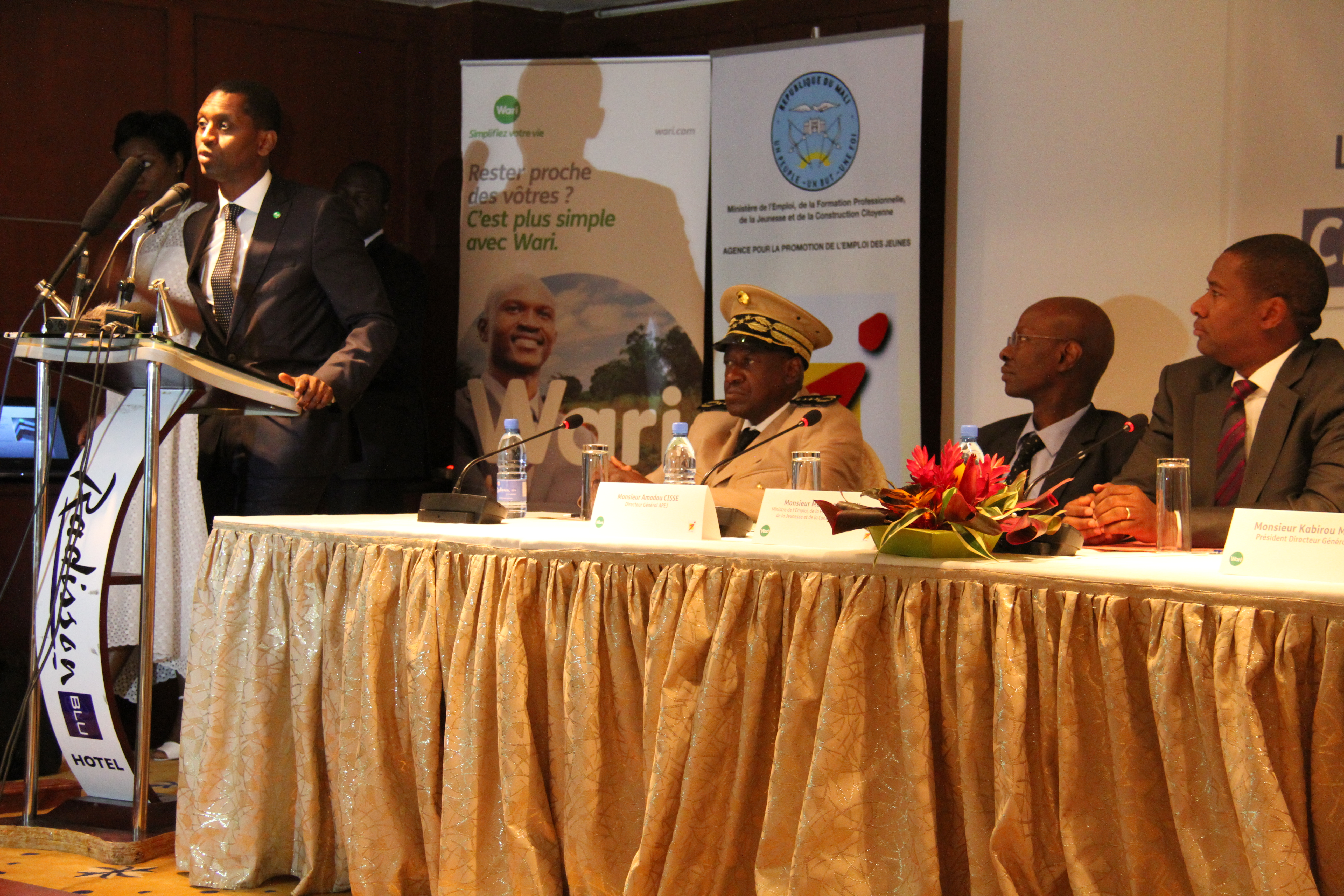 Partenariat Public-Privé APEJ/Wari pour la création de 6000 emplois jeunes au Mali