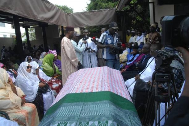 Levée du corps du Dg de l'Anrac: Les autorités fondent en larmes