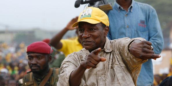 Guinée : Le meeting de clôture de la campagne d'Alpha Condé annulé