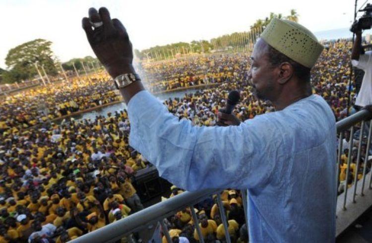 Présidentielle en Guinée : Alpha Condé fait campagne sur ses réalisations