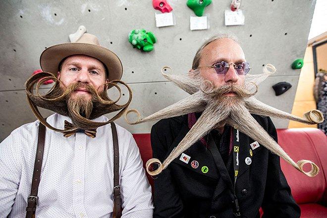 Les 15 plus belles photos des « championnats mondiaux 2015 de moustache et de barbe »