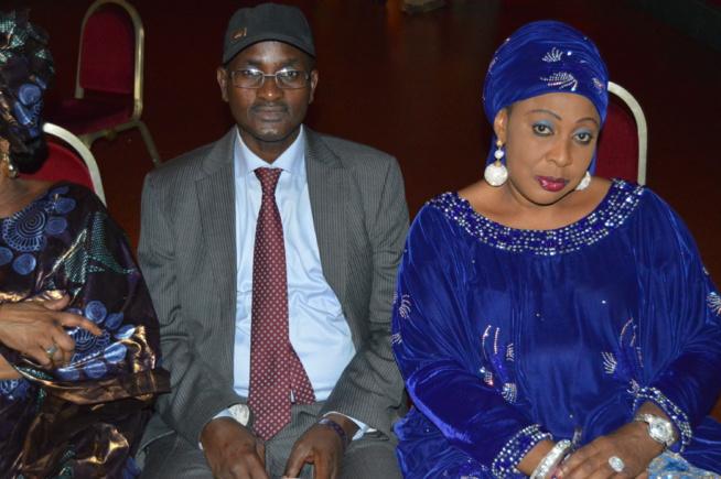 Amadou Kane Diallo à la soirée de Coumba Gawlo Seck au Dock Haussman de Paris