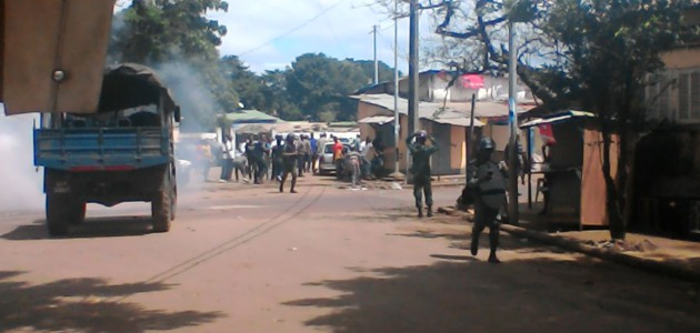 Guinée : Situation tendue aux alentours du domicile de Cellou Dalein