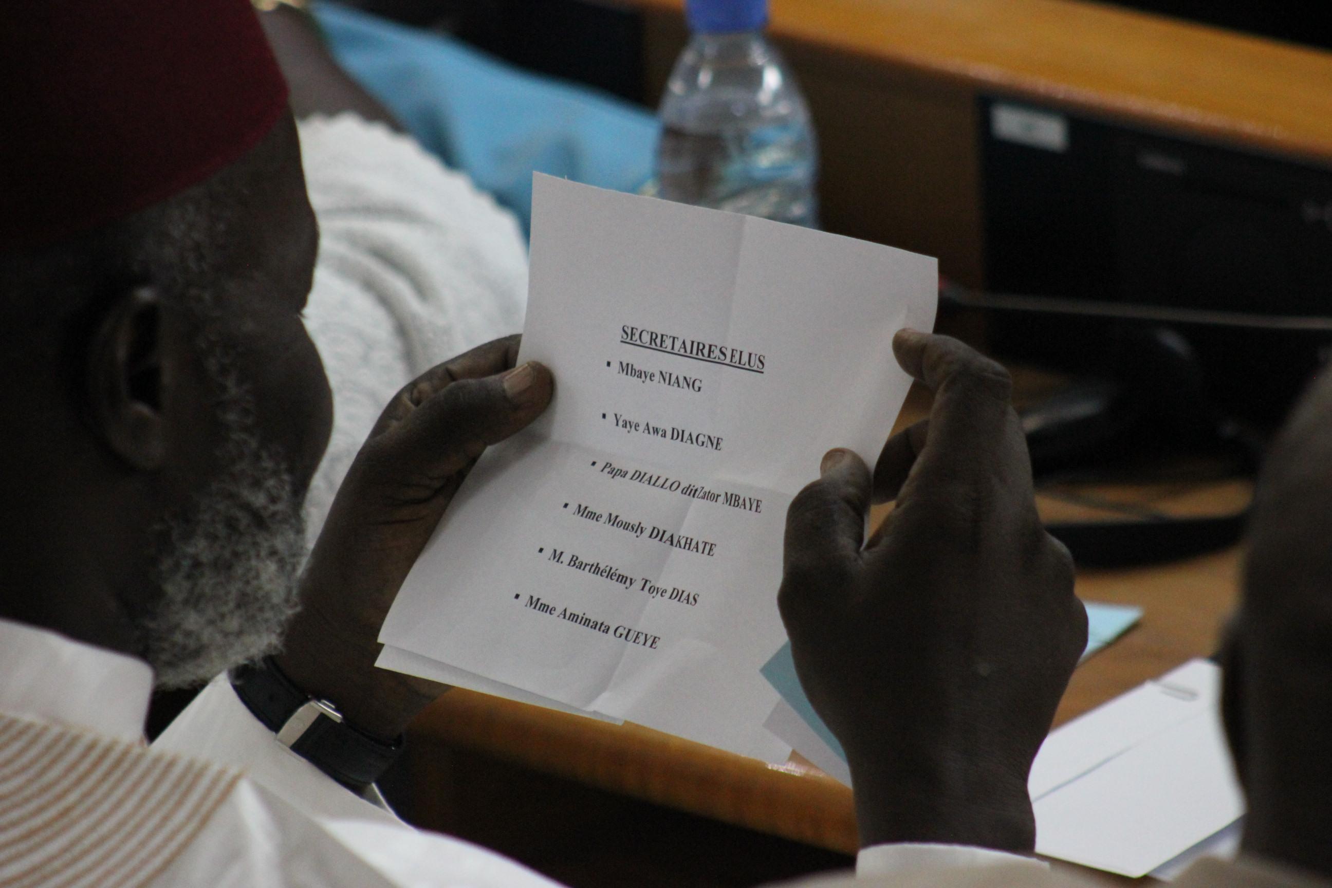 Exclusif:  Voici la composition du bureau de l'Assemblée nationale (documents)