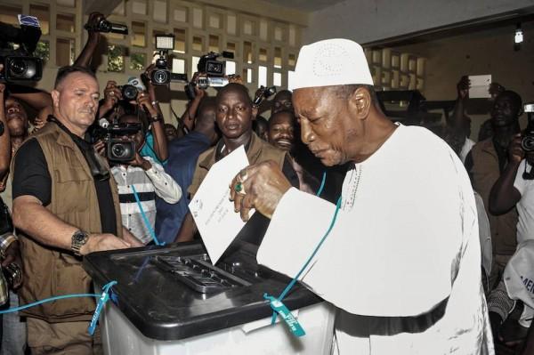 En attendre des résultats du vote : Les Guinéens dans le « calme »