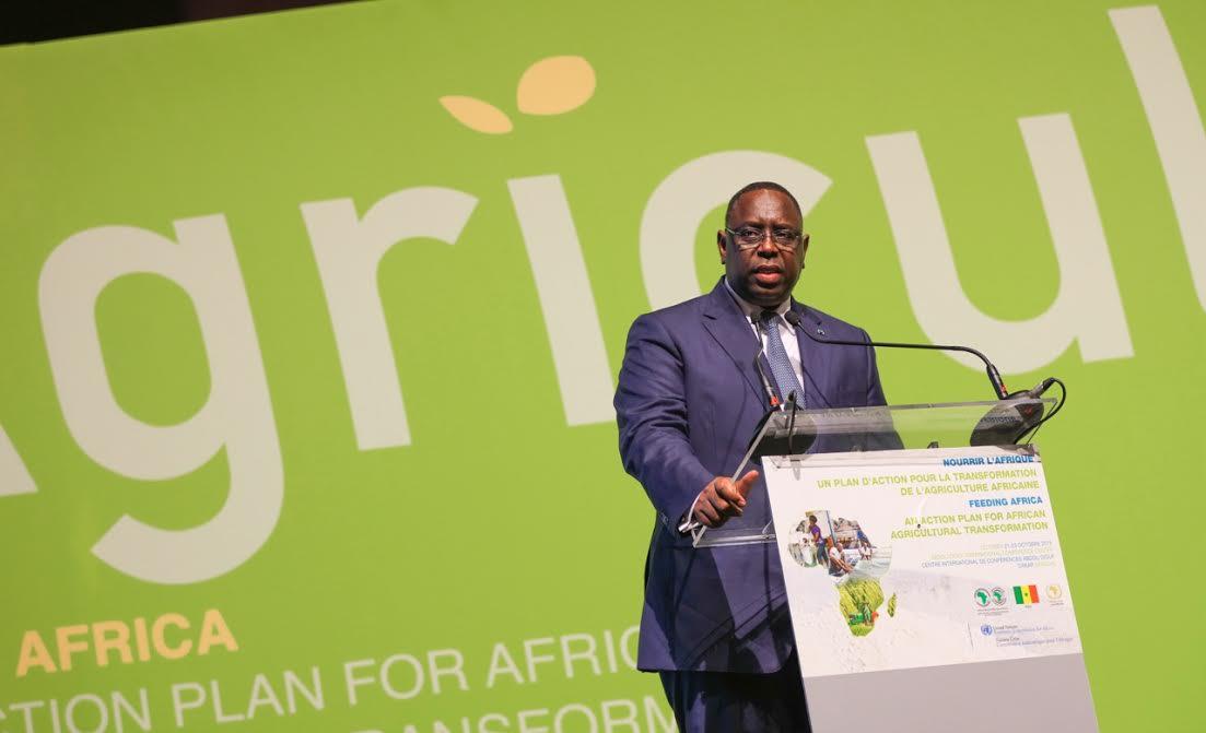 Financement des projets agricoles : Le Président Sall préconise l'implication des banques commerciales