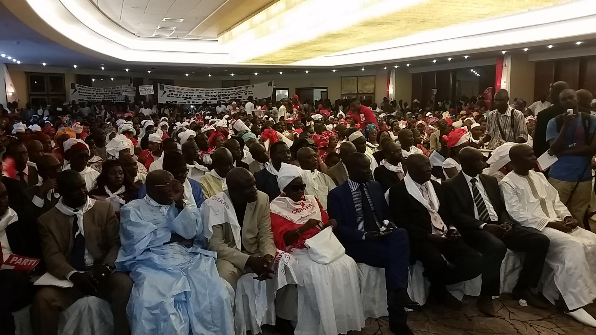 Malick Gakou promet d'alléger la souffrance des Sénégalais