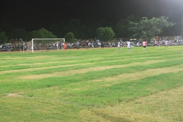 Le stade Maniang Soumaré étrenne de nouveaux habits: El Malick Seck remet en état la pelouse