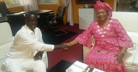 Quand Malick Gackou reçoit Aida Mbodj pour lui apporter son soutien