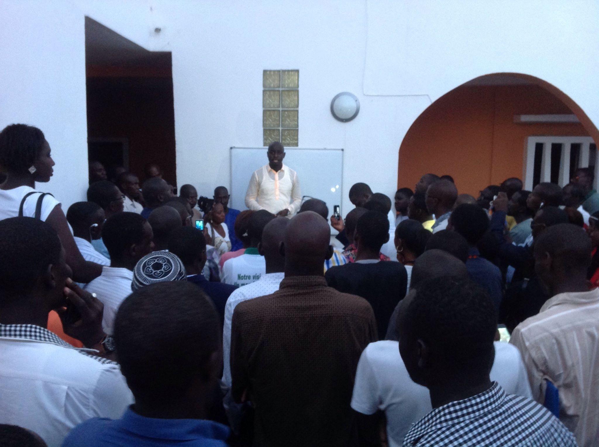 Thierno Bocoum et Cie aux jeunes du pays : «Refusez l'arbitraire et combattez-le par tous les moyens légaux»