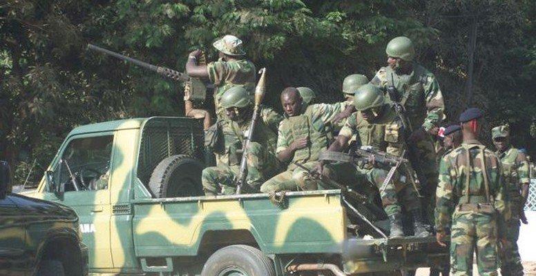 Casamance: Quatre soldés blessés dans une embuscade rebelle entre Badiana et Djignaky