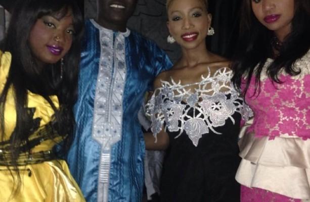 Les membres de Safari captivantes aux côtés de Alioune Mbaye Nder
