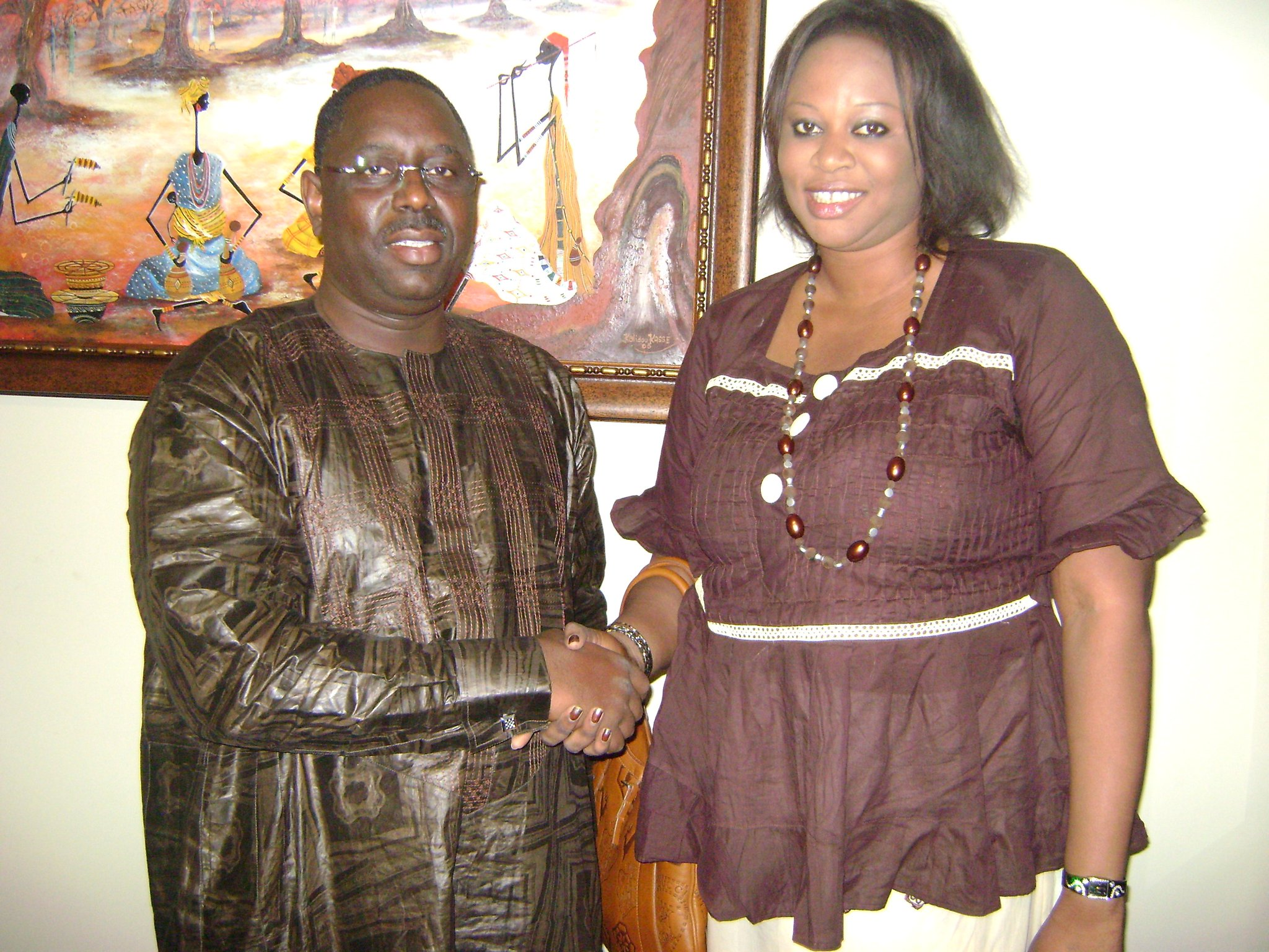 Boughazelli porte plainte contre Néné Fatoumata Tall