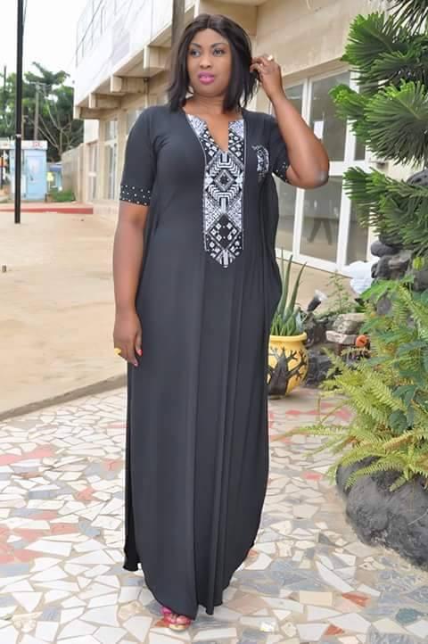 La charmante Nabou Création dans une belle tenue