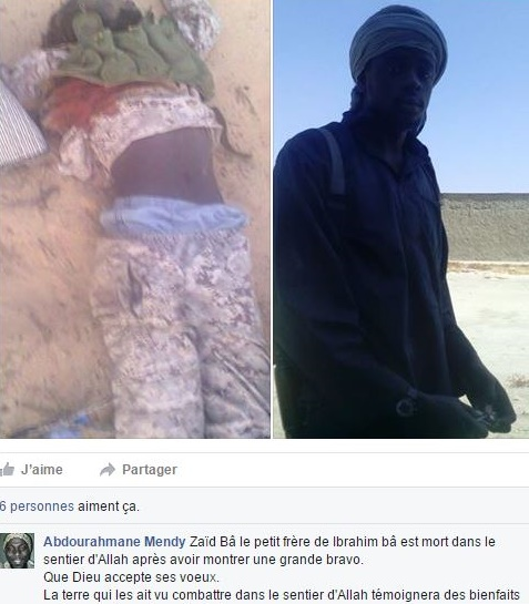 Zaïd Bâ alias Abu Oussama