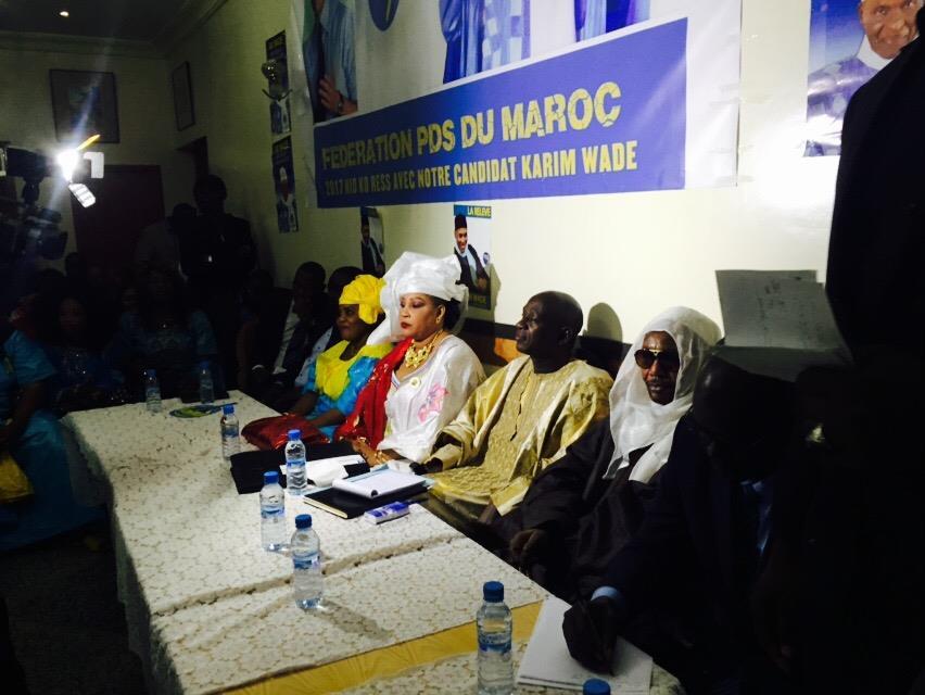 Maroc: La Fédération du Pds approuve l'exclusion de Fada et engage le parti à arrêter les dérives du clan Maky Sall