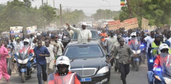 Macky à Touba: Le Khalife des Mourides appelle à une forte mobilisation pour l'accueil