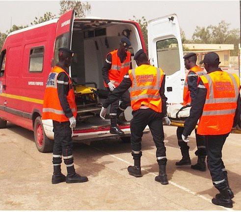 Accident à hauteur de Soumbédioune: Plusieurs blessés dont des policiers.