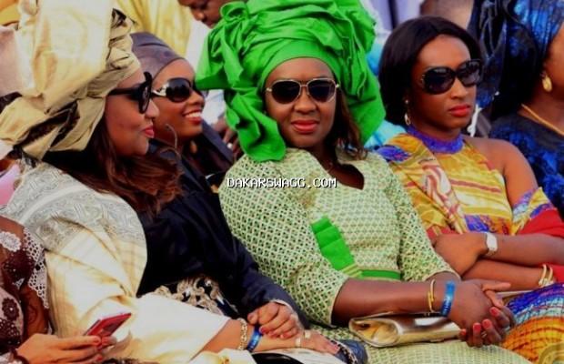 Les filles du président Lamine Diack, Adja et Bineta Laly, misent sur un look coloré et stylé
