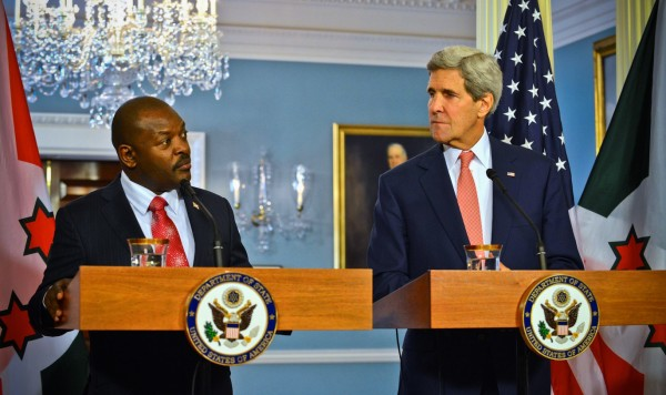 Le Président Burundais Pierre Nkurunziza accuse l'Amérique