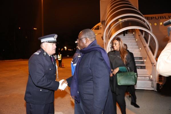 Sommet sur le climat : Arrivée du Président Macky Sall à Paris