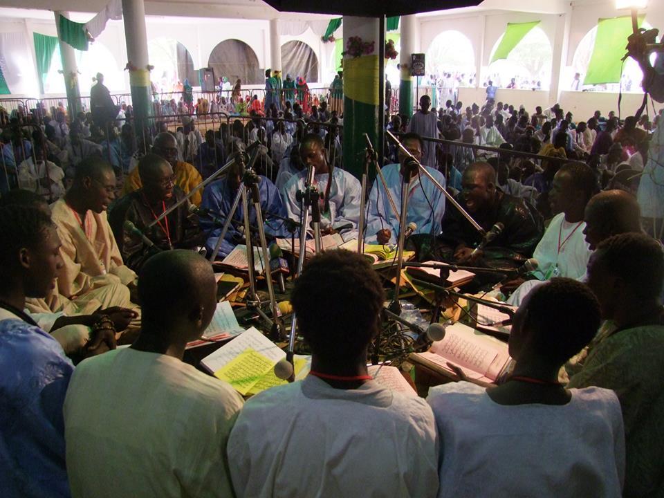"""Les """"Khassaïdes"""" résonnent à Touba, à l'occasion du Magal"""
