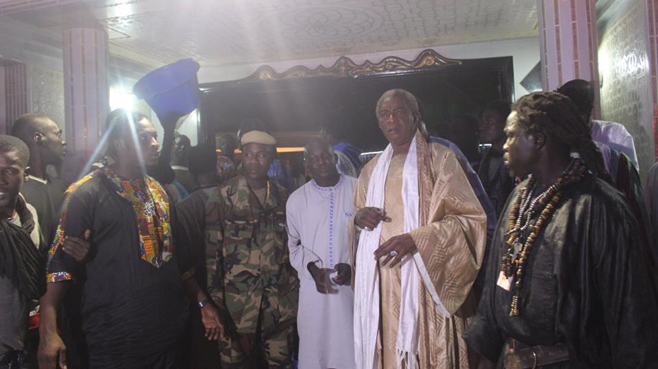 Magal 2015: Fou Malade, Lissa, Ama Baldé et Amanékh chez Serigne Abdou Karim Mbacké