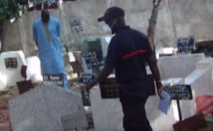 Exhumation de deux corps au cimetière de Pikine :  Un  fossoyeur placé en garde à vue