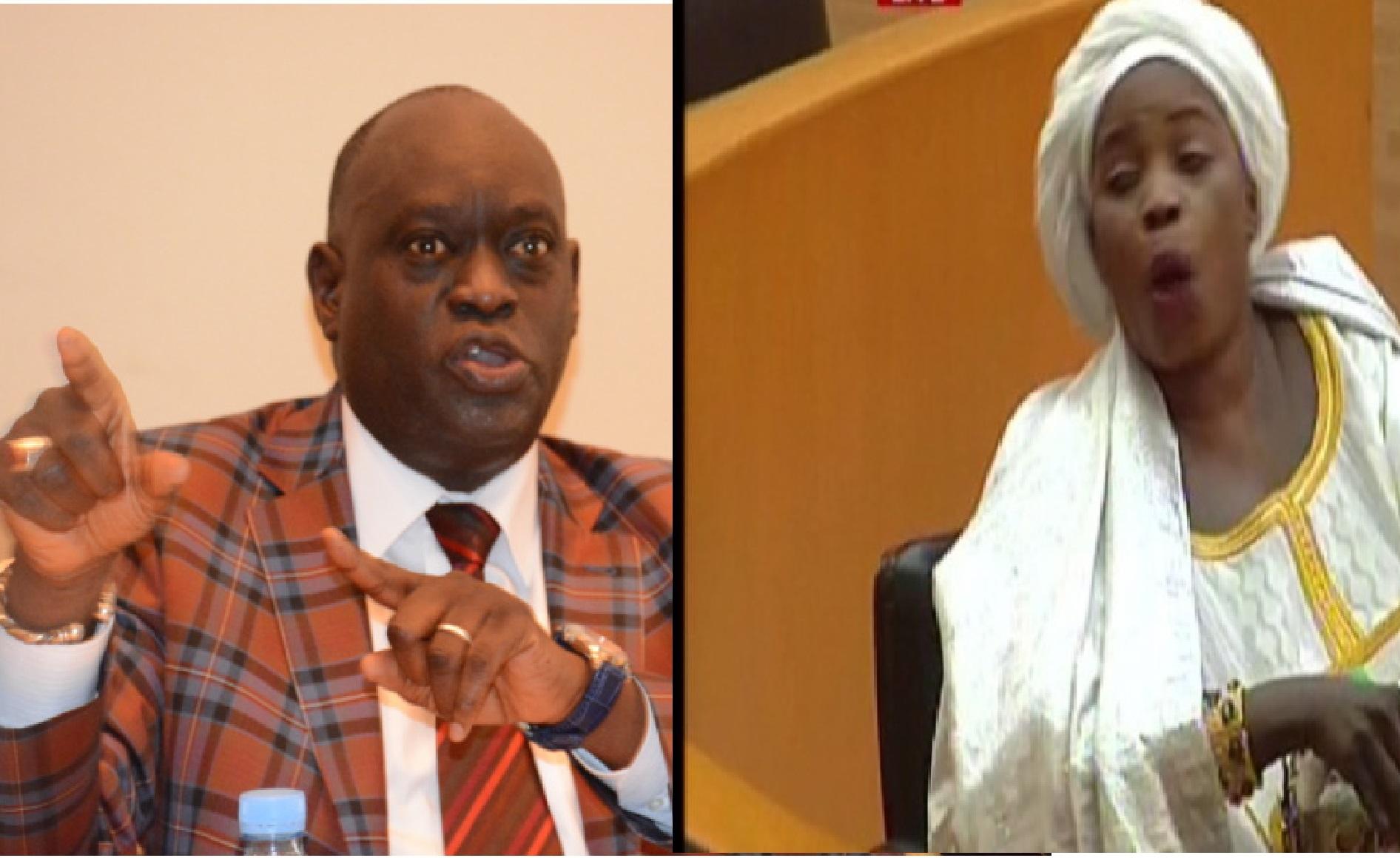 Assemblée nationale : Me El Hadj Diouf et  Aïssatou Diouf s'insultent copieusement