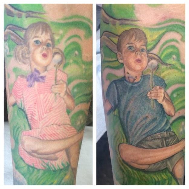 Il retouche un tatouage de son fils transgenre pour refléter sa vraie identité