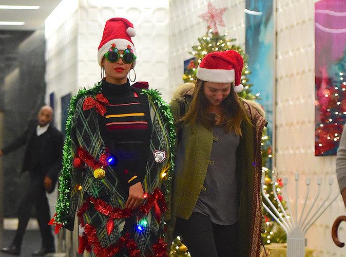 Photos : Beyoncé vit à fond la magie de Noël !