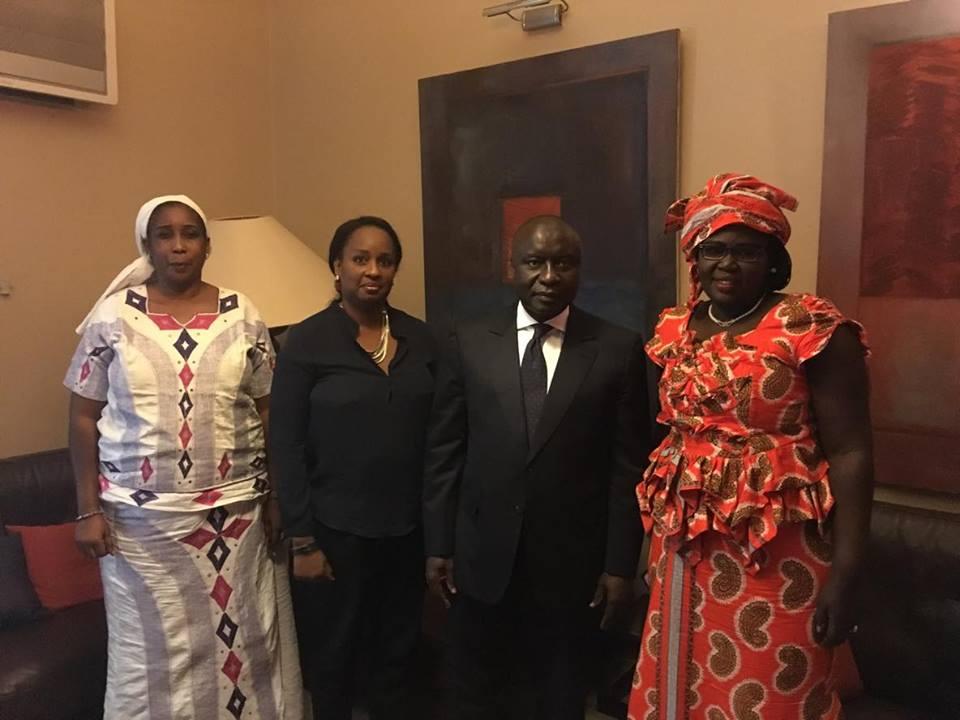 Défense des institutions : Idrissa SECK a reçu le Bureau de l'OCDI