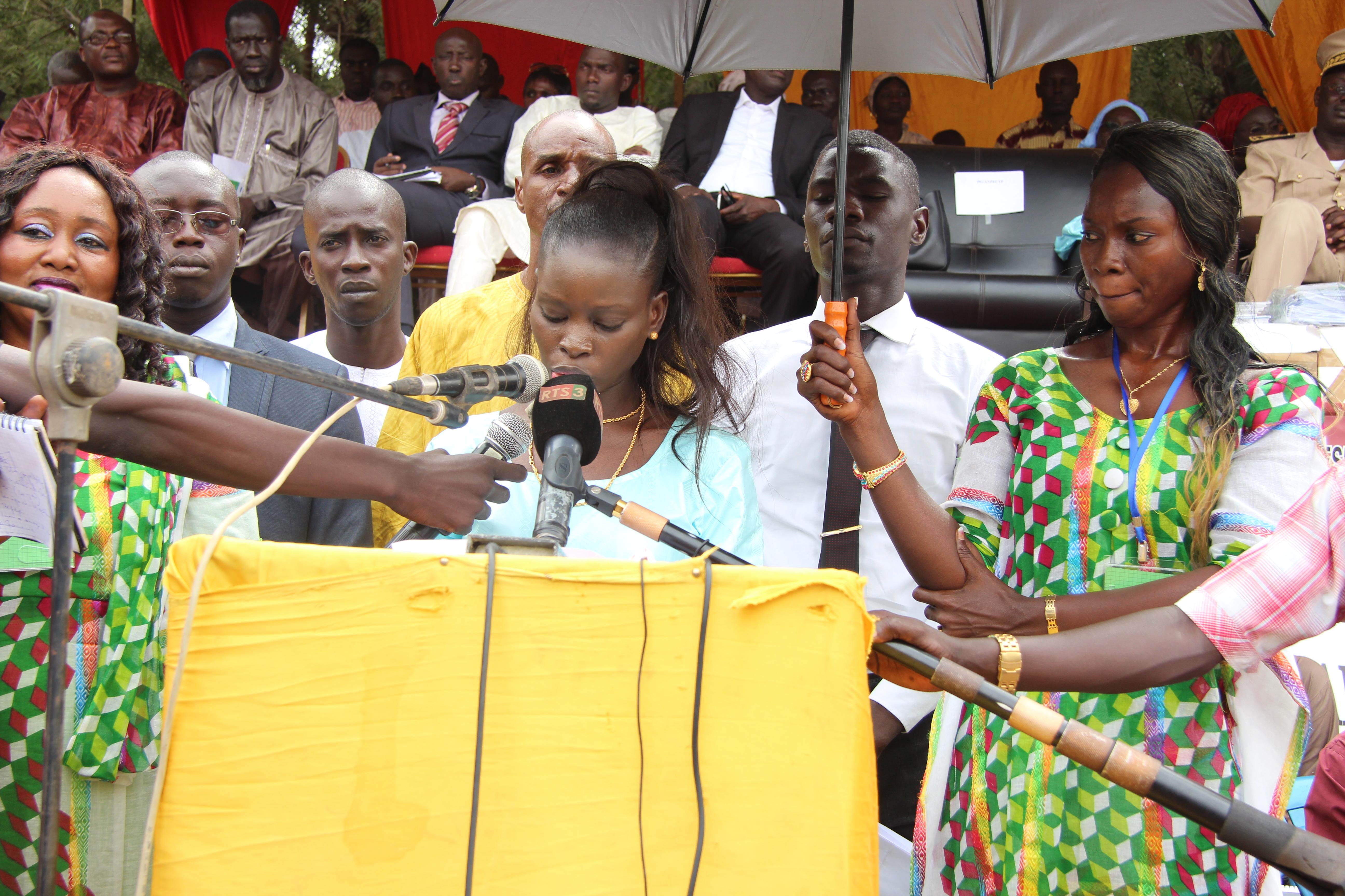 Lancement de la Semaine nationale de la petite enfance à Tambacounda : Thérèse Faye invite les autorités à recenser systématiquement tous les enfants sans pièce d'état civil