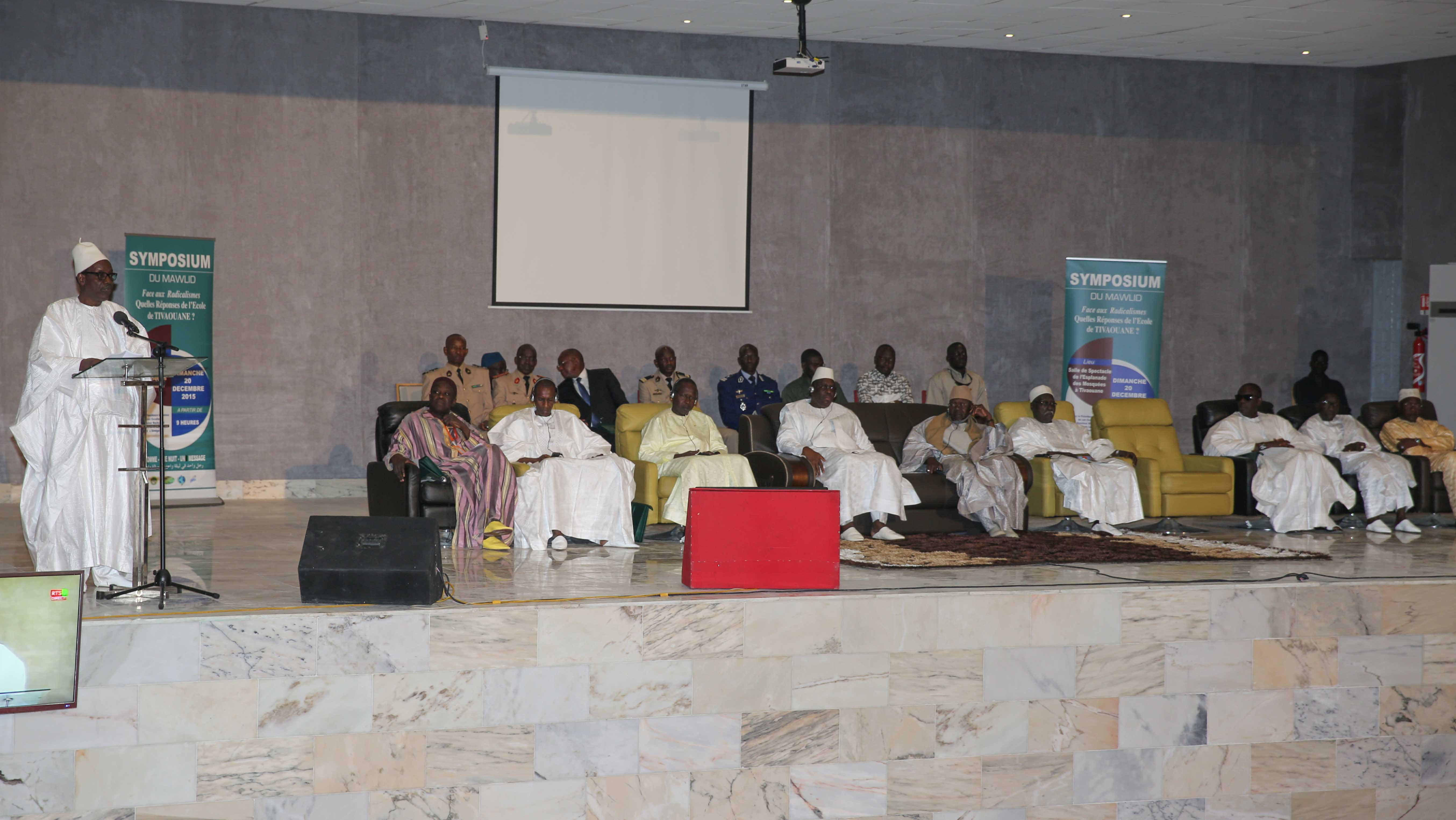 Tivaouane-Symposium du Maouloud  2015:  La voie de l'école de Maodo pour contrer le radicalisme religieux