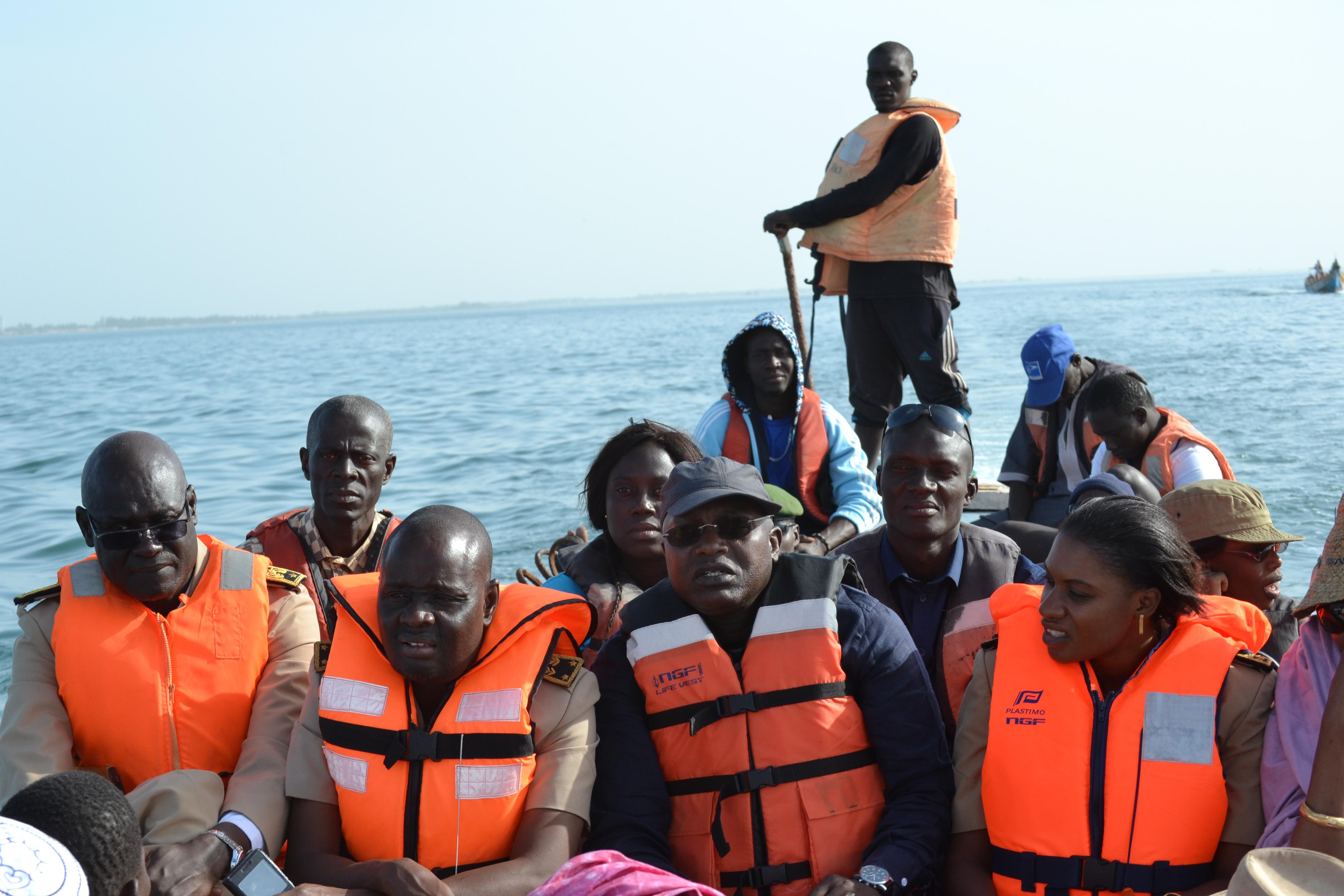 Le ministre de la Pêche à Fatick : Une série de mesures pour baliser la voie de l'émergence