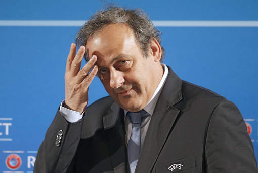 "Platini après sa suspension : ""Une véritable mascarade"""