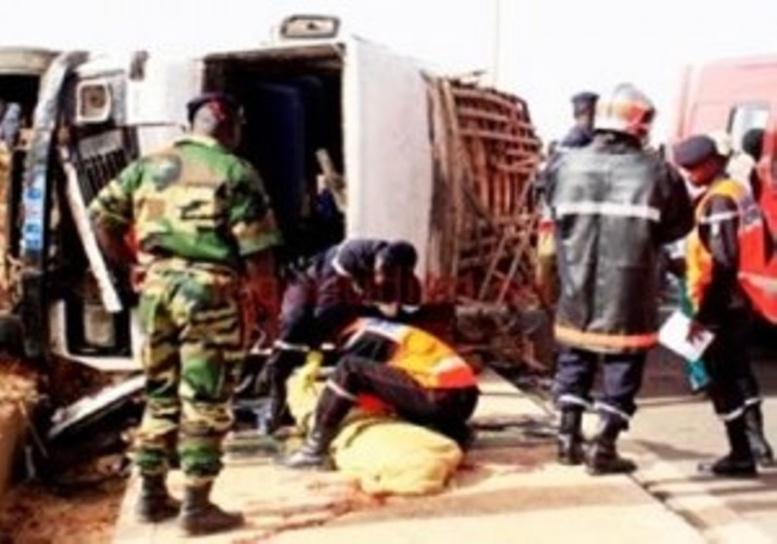 Fatick: deux apprentis chauffeurs morts dans un accident de la route