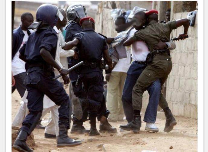 Matam-Ziarra annuelle de Mouhamadou Thierno Samassa: bagarre de rue entre 2 camps rivaux de l'Apr