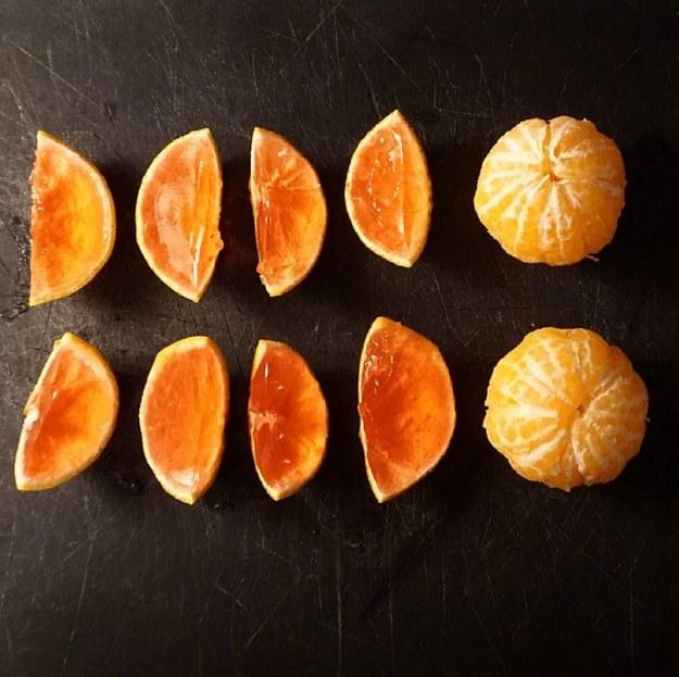 Une recette de « jello shots » à la mandarine pour votre réveillon