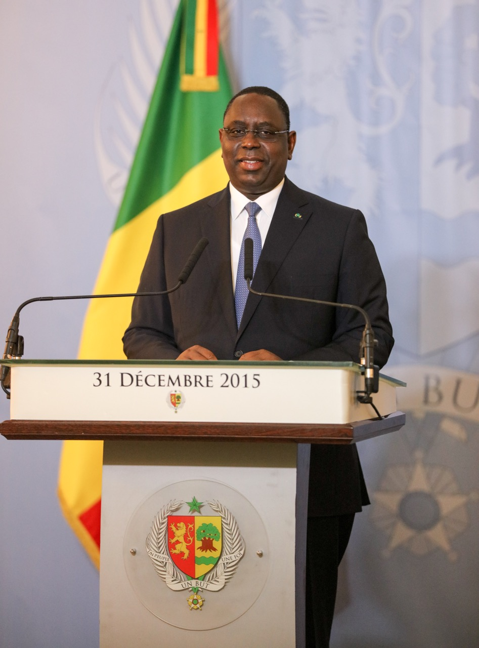 Message à la Nation du Président de la République Macky Sall à l'occasion du nouvel An