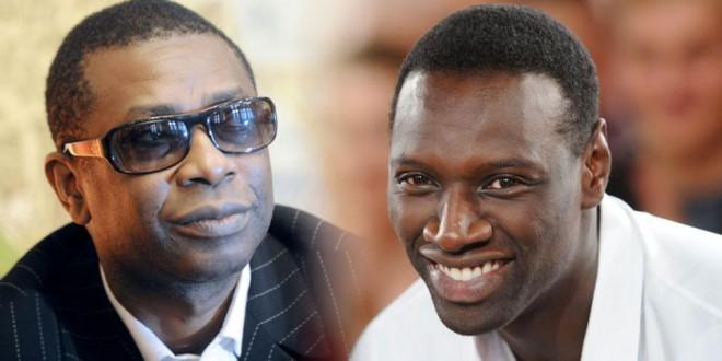 """Oumar Sy et Youssou Ndour invités de """"Vivement Dimanche"""" de Michel Drucker."""